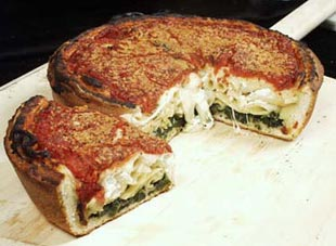 Stuffed Lasagna Pizza